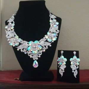 ❤Custom Jewelry Necklace & earring set.